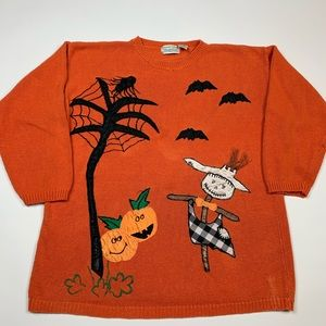 Vintage 90s CUTE Halloween Sweater